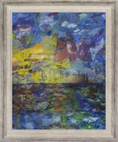 Wall Frame Silver Flat - Let There Be Light by B. Gilroy