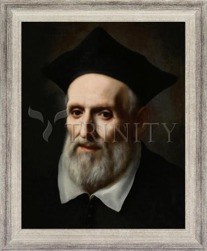 Wall Frame Silver Flat - St. Philip Neri by Museum Art