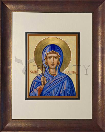 Wall Frame Double Mat Gold - St. Claudia by J. Cole