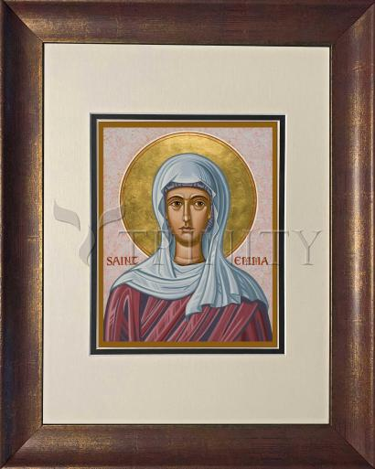 Wall Frame Double Mat Gold - St. Emma by J. Cole