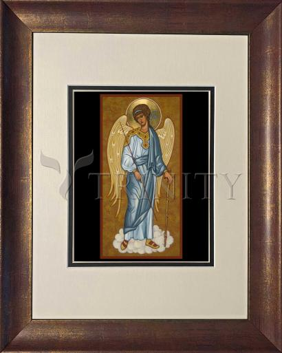 Wall Frame Double Mat Gold - Guardian Angel by J. Cole