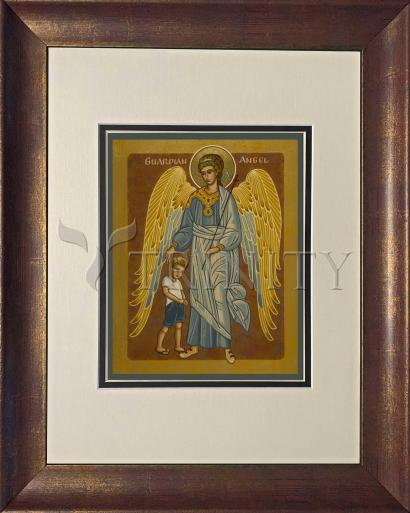 Wall Frame Gold Scoop - Guardian Angel with Boy by J. Cole