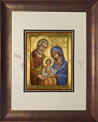 Wall Frame Double Mat Gold - Holy Family by J. Cole
