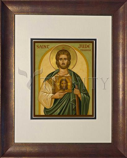 Wall Frame Double Mat Gold - St. Jude by J. Cole