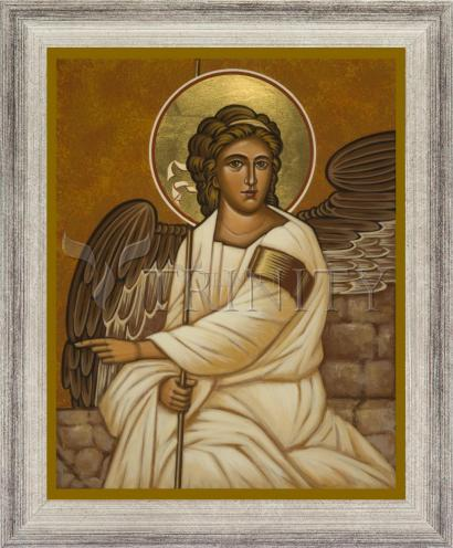 Wall Frame Silver Flat - Resurrection Angel by J. Cole