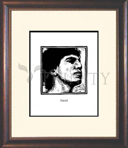 Wall Frame Double Mat Gold - David by J. Lonneman