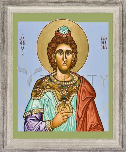 Wall Frame Silver Flat - St. Daniel the Prophet by L. Williams
