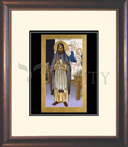 Wall Frame Double Mat Gold - St. Andrei Rublev by L. Williams