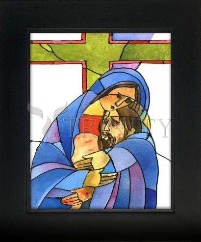 Wall Frame Gold Scoop - Stations of the Cross - 13 Body of Jesus is Taken From the Cross by M. McGrath