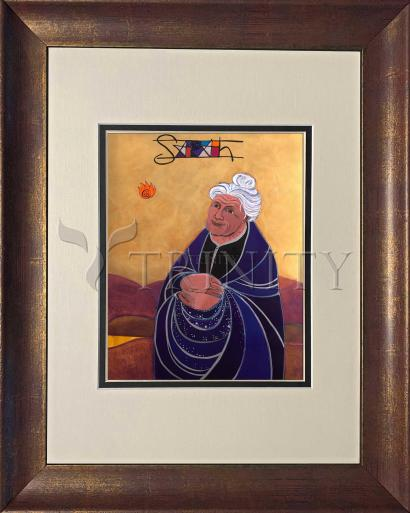 Wall Frame Double Mat Gold - St. Sarah by M. McGrath