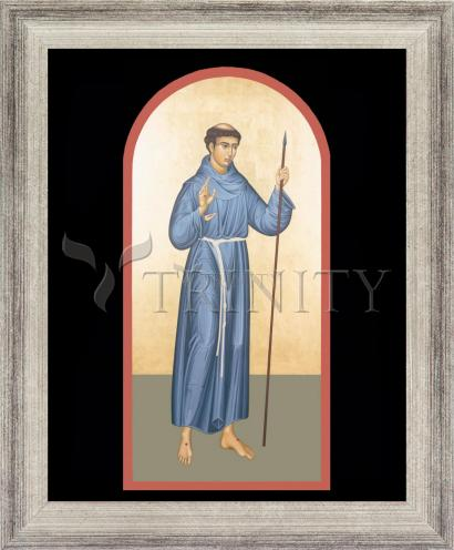 Wall Frame Silver Flat - St. Philip of Jesus by R. Lentz