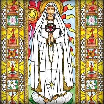 Our Lady of Fatima by Brenda Nippert