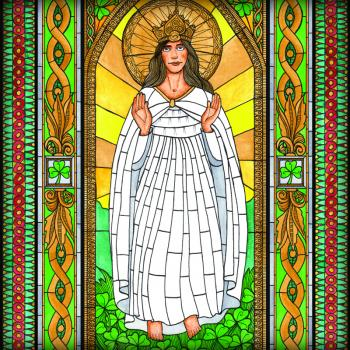 Our Lady of Knock by Brenda Nippert