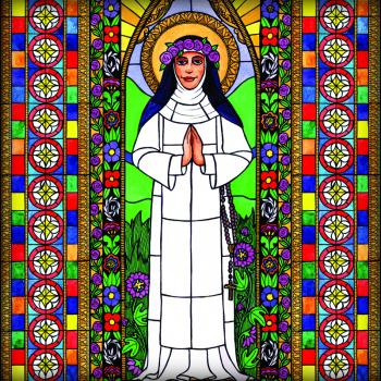 St. Rose of Lima by Brenda Nippert
