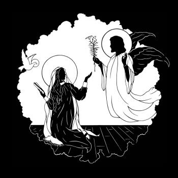 Annunciation by Dan Paulos