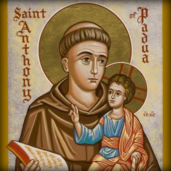 St. Anthony of Padua by Joan Cole