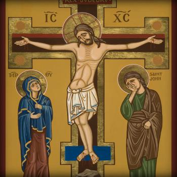 Crucifixion by Joan Cole