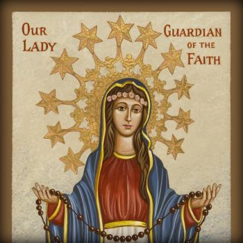 Our Lady Guardian of the Faith by Joan Cole