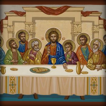 Last Supper by Joan Cole