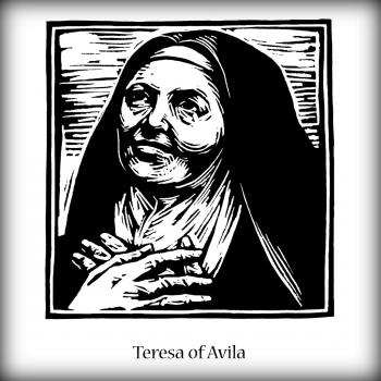 St. Teresa of Avila by Julie Lonneman