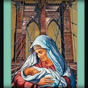 Our Lady of Brooklyn by Lewis Williams, OFS