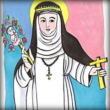St. Catherine of Siena by Br. Mickey McGrath, OSFS