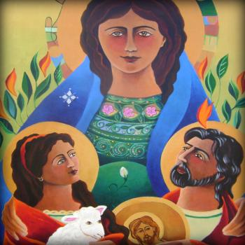 Our Lady of Hope by Br. Mickey McGrath, OSFS