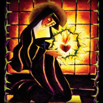 St. Margaret Mary Alacoque by Br. Mickey McGrath, OSFS