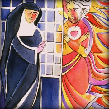 St. Margaret Mary Alacoque, Cloister by Br. Mickey McGrath, OSFS