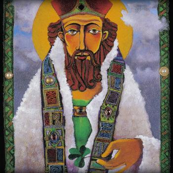 St. Patrick by Br. Mickey McGrath, OSFS