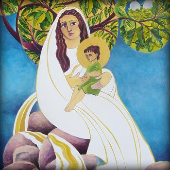 Mary, Promised Land by Br. Mickey McGrath, OSFS