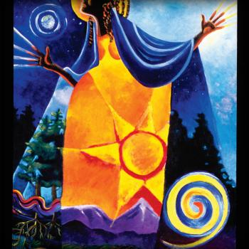 Queen of Heaven, Mother of Earth by Br. Mickey McGrath, OSFS