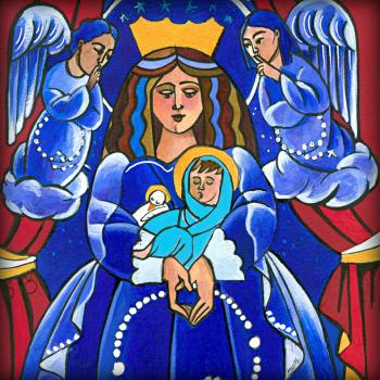 Mary, Queen of Heaven by Br. Mickey McGrath, OSFS