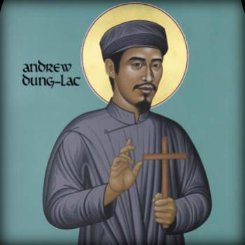 St. Andrew Dung-Lac by Br. Robert Lentz, OFM