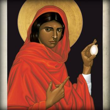 St. Mary Magdalene  by Br. Robert Lentz, OFM