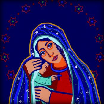 Madonna and Child by Dan Paulos