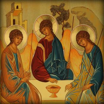 Holy Trinity, by Joan Cole