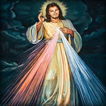 Divine Mercy, by Lewis Williams, OFS