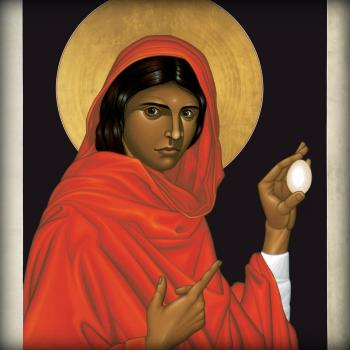 St. Mary Magdalene, by Br. Robert Lentz, OFM