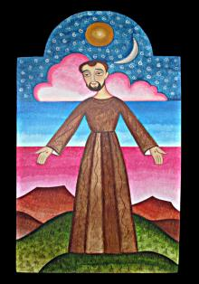 St. Francis of Assisi, Herald of Creation by Br. Arturo Olivas, OFS