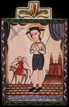 St. Isidore by Br. Arturo Olivas, OFS
