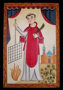 St. Lawrence by Br. Arturo Olivas, OFS
