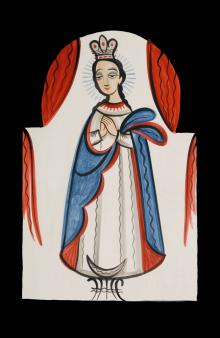 Our Lady of the Immaculate Conception by Br. Arturo Olivas, OFS