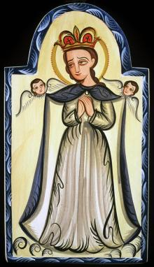 Our Lady, Queen of the Angels by Br. Arturo Olivas, OFS