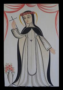 St. Rose of Lima by Br. Arturo Olivas, OFS
