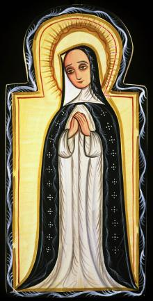 Our Lady of Solitude by Br. Arturo Olivas, OFS