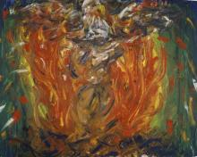 Eagle in Fire That Does Not Burn by Fr. Bob Gilroy, SJ