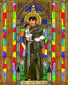 St. Anthony of Padua by Brenda Nippert