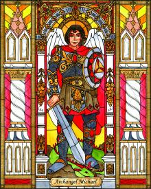 St. Michael Archangel by Brenda Nippert