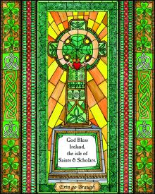 Celtic Cross by Brenda Nippert